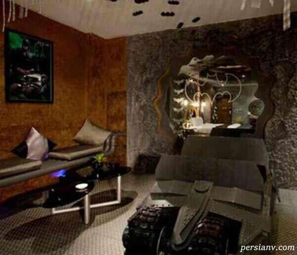 طراحی اتاق بتمن