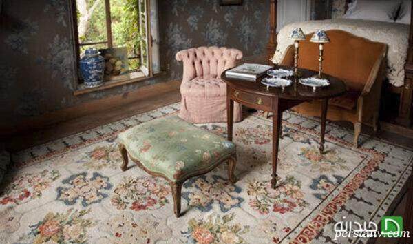 فرش ابریشم در دکوراسیون داخلی