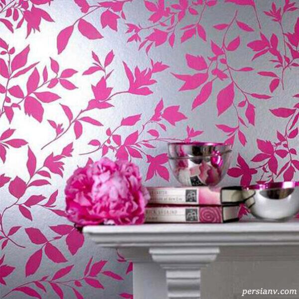 مدلهای جدید کاغذ دیواری با طرح های مدرن و زیبا