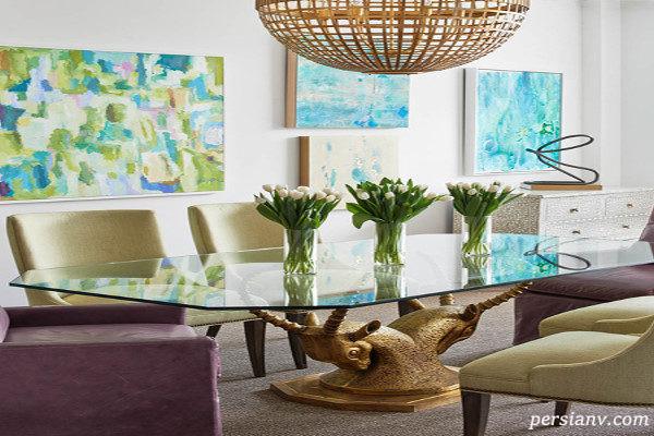 چگونه از گلدانی مناسب برای زیباترشدن دکوراسیون داخلی خانه استفاده کنیم + تصاویر