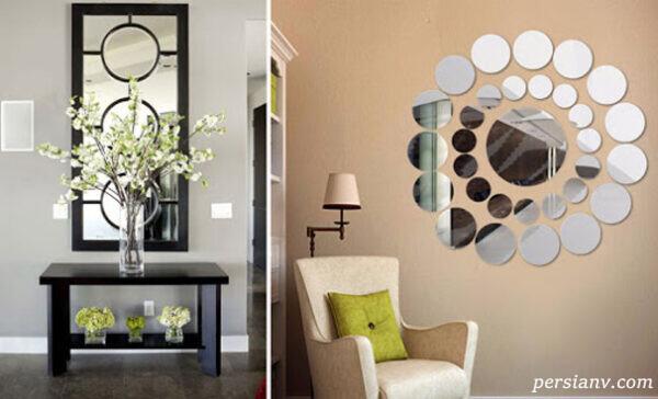 آینه باید در کانون دکوراسیون خانه باشد