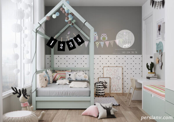 طراحی مبتکرانه یک اتاق خواب بسیار زیبای دخترانه در سائوپائولوی برزیل