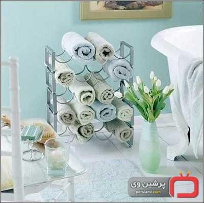 تزئین حمام و دستشویی