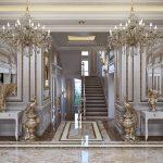 دکوراسیون آپارتمانی صد متری با طراحی الهام گرفته از هتل + تصاویر
