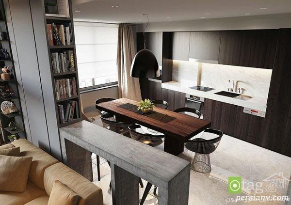 دکوراسیون آپارتمان صد متری