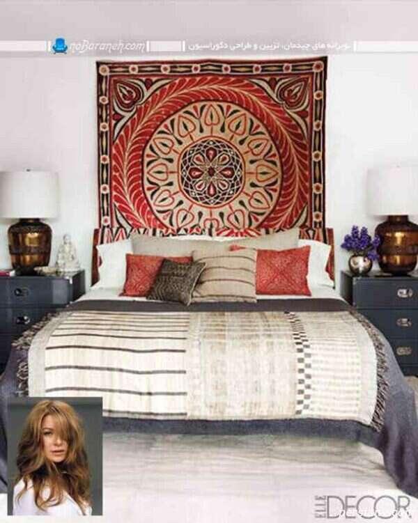 دکوراسیون اتاق خواب هالیوودی