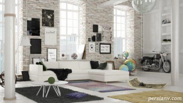 رنگ سفید در دکوراسیون منزل