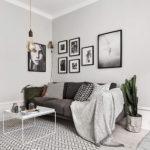 دکوراسیون آپارتمان کوچک ۴۰ متری با طراحی اسکاندیناوی