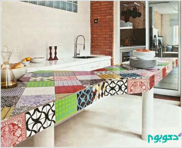 طرحهای چهل تکه در منزل