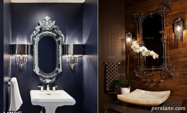نورپردازی سرویس بهداشتی منزل