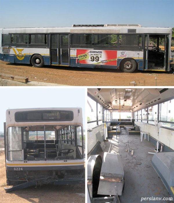 چیدمان خانه اتوبوسی