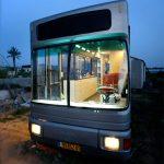 چیدمان دیدنی یک اتوبوس اوراقی + تصاویر