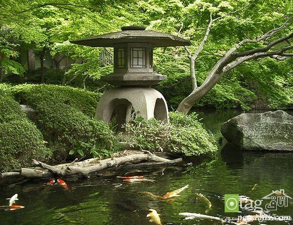 تزیین باغچه مدل ژاپنی