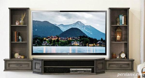 جدیدترین مدل های میز تلویزیون شناور که به تازگی مد شده اند