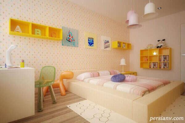 دکوراسیون اتاق خواب کودکانه