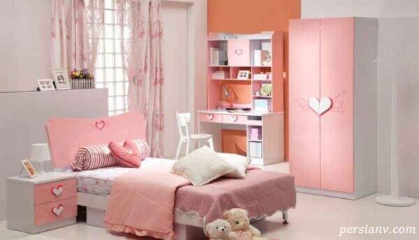 دکوراسیون اتاق دخترانه غیر معمولی و زیبا