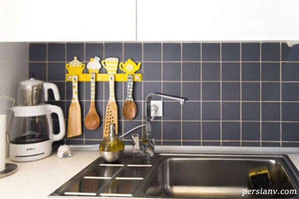 زرد و خاکستری رنگهایی برای دکوراسیون خانه های نقلی مدرن