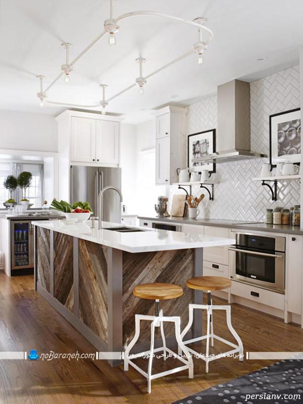 آشپزخانه به شکل جزیره