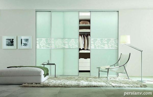 شیک ترین و متفاوت ترین مدل های کمد دیواری اتاق خواب