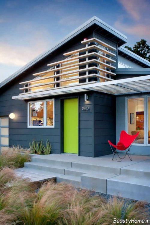 نمای بیرونی خانه