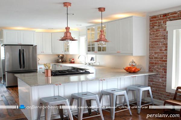 چراغ آویز اپن آشپزخانه