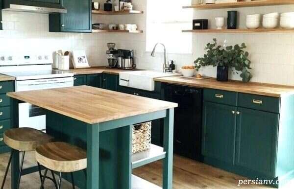 آشپزخانه خود را به این شکل اصولی دکور کنید