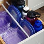۱۰ راه زیرکانه برای جا دادن وسایل در آشپزخانه های کوچک + عکس