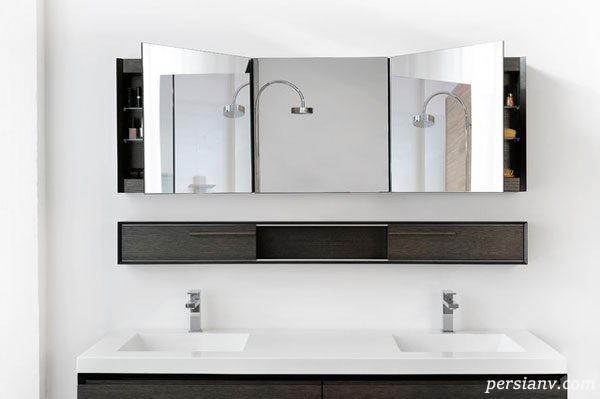 آینه های سرویس بهداشتی