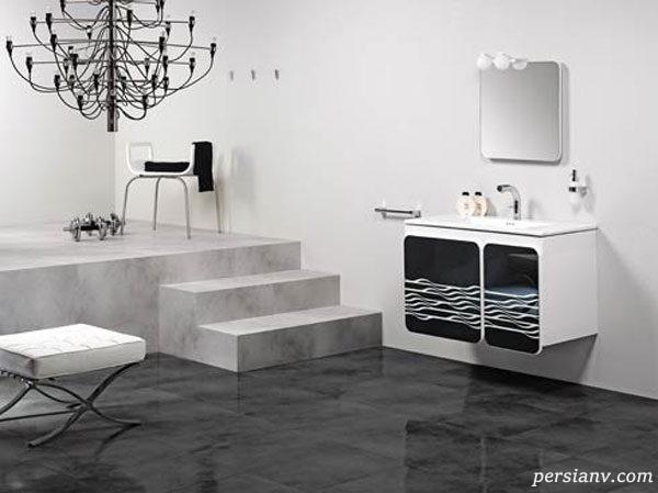 ایده هایی بکر برای آینه های حمام و سرویس بهداشتی + تصاویر