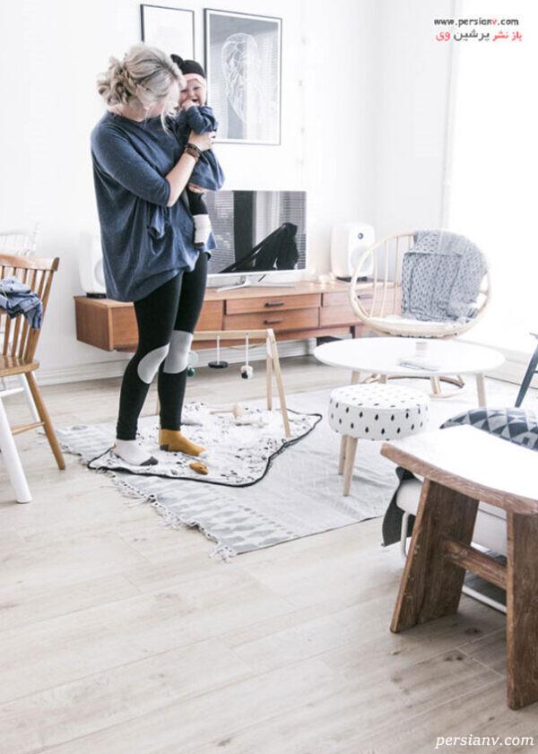 دکوراسیون-آپارتمان-کوچک-و-شیک