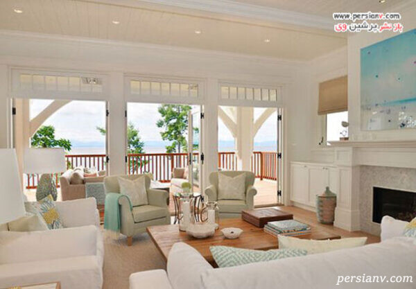 طراحی ساحلی منزل