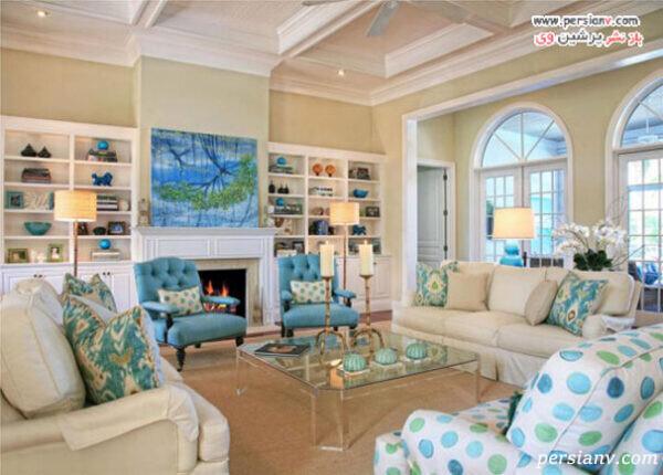 دکوراسیون ساحلی خانه