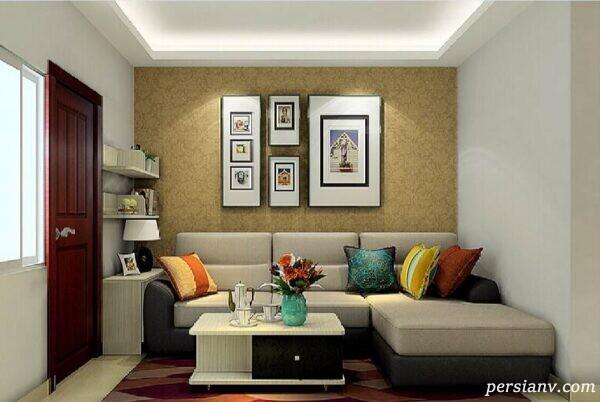 دکوراسیون یک آپارتمان شیک فرانسوی به رنگ سفید