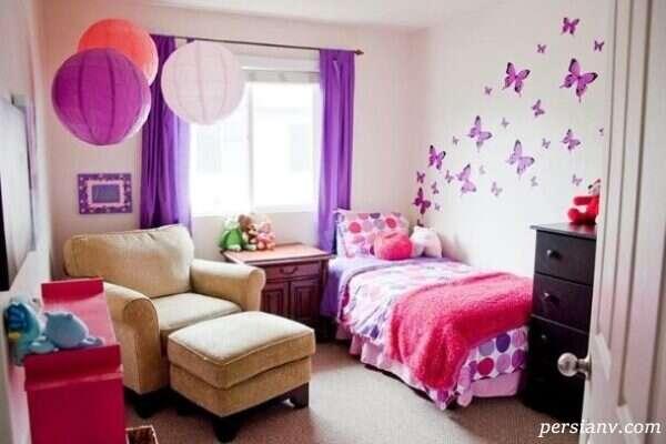 رنگ اتاق کودک دختر و پسر