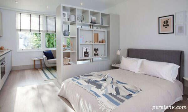 ایده هایی از طراحی اتاق خواب دو نفره