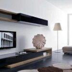 زیبایی دکوراسیون اتاق نشیمن با طرح های مدرن میز تلویزیون