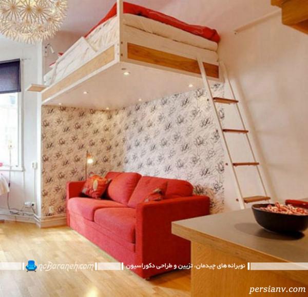 تخت خوابهای دو طبقه
