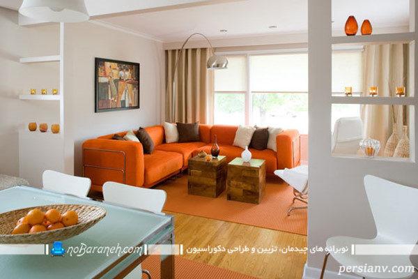 ترکیب رنگ در دکوراسیون خانه