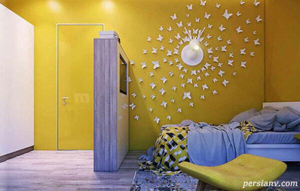 ایده هایی بسیار مدرن و جذاب برای تزیین اتاق کودک