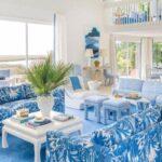 یک خانه با تم زیبای آبی داشته باشید