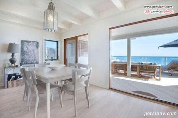 خانه ساحلی لئوناردو دیکاپریو