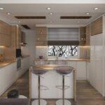 بهترین کابینت ها برای آشپزخانه های نقلی