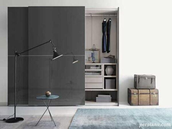 کمد دیواریهای زیبا و جادار بهترین گزینه برای کسانیکه خانه هایی کوچک دارند