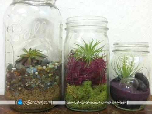 گلدانهای شیشه ای