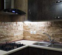 تزئین فوق العاده زیبای دیوار چند آشپزخانه با کاشی + تصاویر