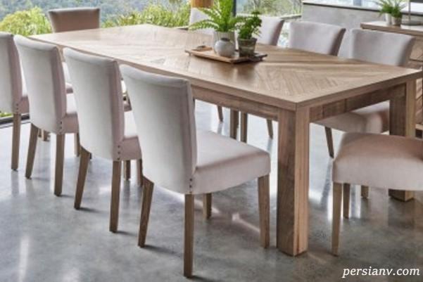 ایده هایی ناب برای تزئین میز ناهارخوری به سبک زیبای اسکاندیناوی
