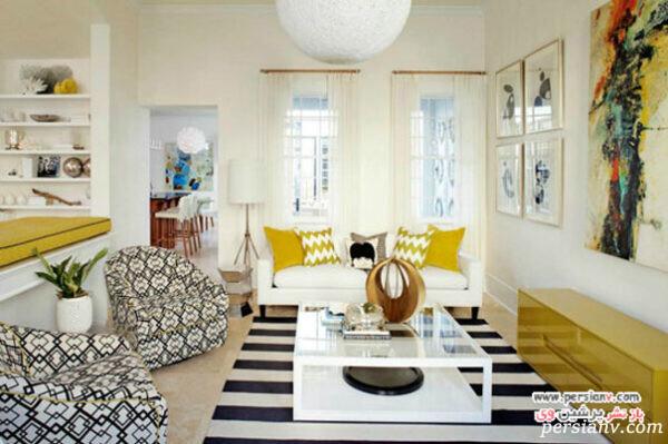 خانه زرد رنگ