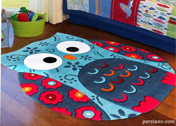 انتخاب فرش شیک و زیبا برای دکوراسیون اتاق کودک