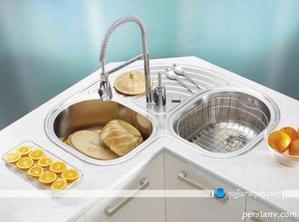 سینک ظرفشویی کنجی ال