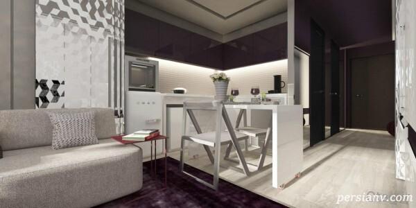 طراحی بی نظیر و استثنایی یک خانه ۲۰ متری